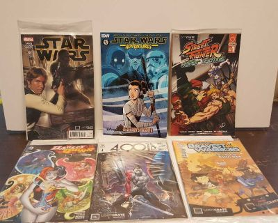 Loot Crate comic book collection