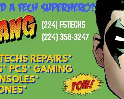 WICHITA GAME CONSOLE REPAIR www.F5TECHS.com