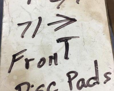 T2 disc brake pads