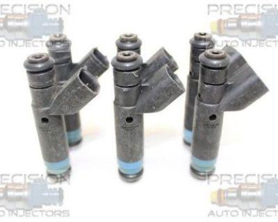 Set Of 6 Rebuilt 1999 - 2004 Jeep Wrangler 4.0l Ohv Fuel Injectors