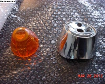 VW Hella Front Turn Signal Base And Lens Germany