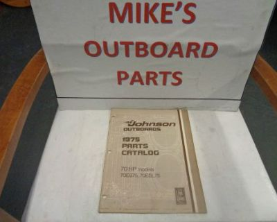 1975 Johnson Outboard 70hp Parts Catalog @@@check This Out@@@
