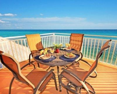 "2 Masters on Gulf, near Pier Park, Free Beach Chairs,60"" TV, 2Bunks,stocked kit - West Panama City Beach"