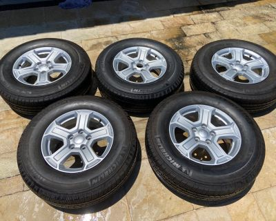 California - OEM 2020 Sport S Wheels, Tires, Front and Rear Bumpers (Under 500 miles of use) (Greater LA area)