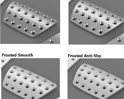 Mustang Aluminum Gas Brake and Dead Pedal Covers