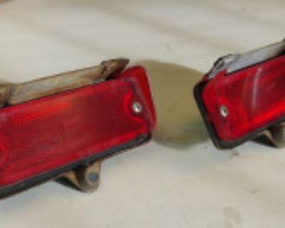 Rear Bumper Reflectors