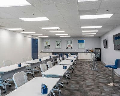 Workshop & Meeting Space with Interactive 40ft Whiteboard Wall!, Norcross, GA