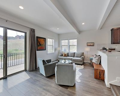 Spacious New-Build with Private Balcony & Grill - Near Slopes & Hiking Trails - Heber City