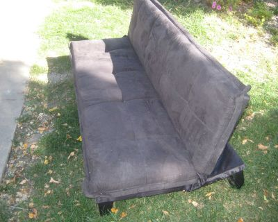 Comfortable Futon As couch and bed