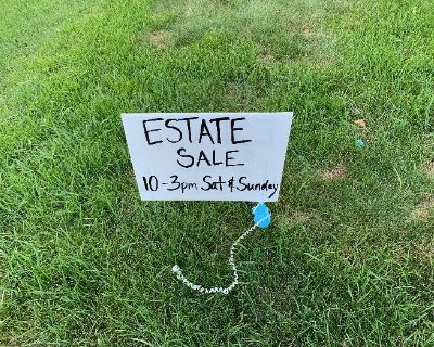 Estate Sale with 40 plus years of goods!