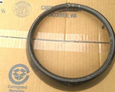 Original German HELLA Plastic Headlight Trim Ring