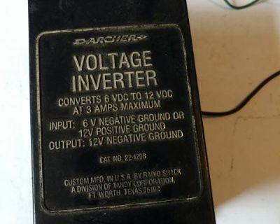 Voltage inverter 6 volt to 12 volt