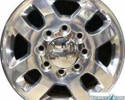 "18"" 2011 Chevrolet Silverado 2500 Polished Alloy Wheel"