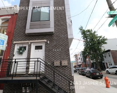 Newly Renovated 2 Bedroom Apartment For Rent in Fishtown!