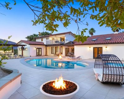 'Paloma Estate' 6 BR, 3 Acres, Pool/Spa, Firepits, Game Room - Cahuilla Hills