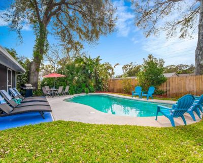 ENDLESS SUMMERS! Comfy beach house with heated pool!!!. Close to Mayo - Jacksonville Beach