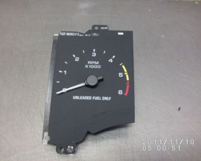 90-93 Ford Mustang Lx 6k Tachometer Assembly 1991 1992 1990 1993