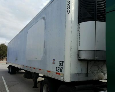 2004 Utility Reefer Trailer 53', 2010 Carrier Eng, ARB, Lease purchase