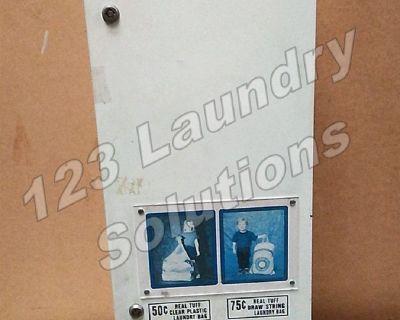 Heavy Duty Laundry 50¢ & 70¢ Bags Dispenser Used