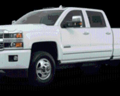 2016 Chevrolet Silverado 3500HD High Country Crew Cab Long Box 4WD DRW