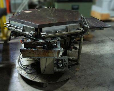 Buy BRACKETT CIRCULAR PADDER Machine at used-presses.net