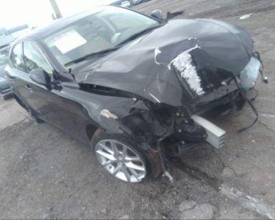 Salvage Black 2013 Lexus Is 250