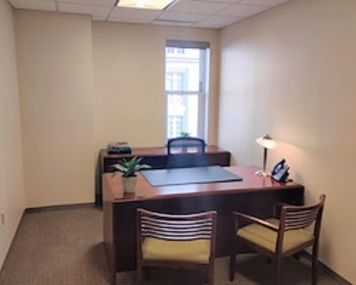 Private Office for 1 at Carr Workplaces - The Willard
