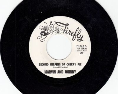 MARVIN And JOHNNY ~ Second Helping Of Cherry Pie*M-45 !