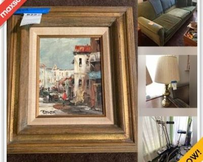 West Hollywood Estate Sale Online Auction - North Orange Grove Avenue