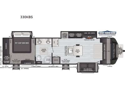 2021 Keystone Rv Sprinter Limited 330KBS
