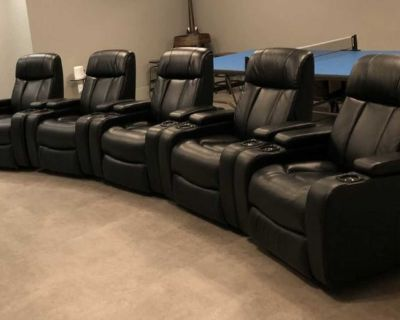 NEW theatre chairs