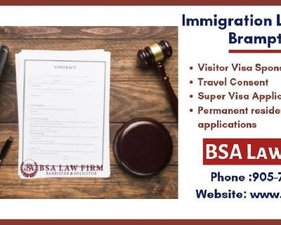 Visit the Immigration Lawyer nearby Brampton