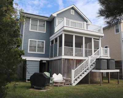 Downtown Bethany Beach house w/ gas grill, outside shower and screened porch - Bethany Beach