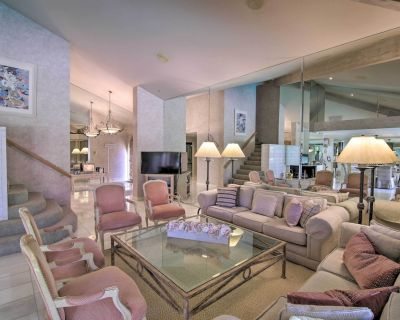 Luxe Home: Fire Pit, Pool & Spa: 3 Mi to Natl Park - Rancho Mirage