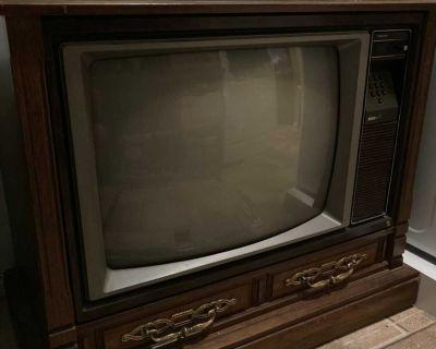 RCA Floor Model colour TV