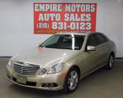 2010 Mercedes-Benz E-Class E 350 4MATIC Luxury Sedan