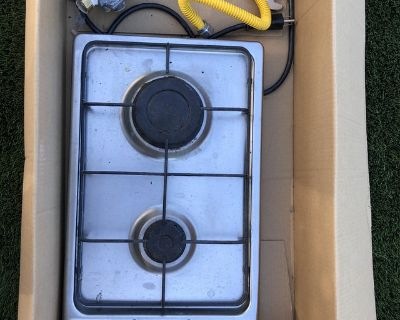Summit 12 in. Gas Cooktop