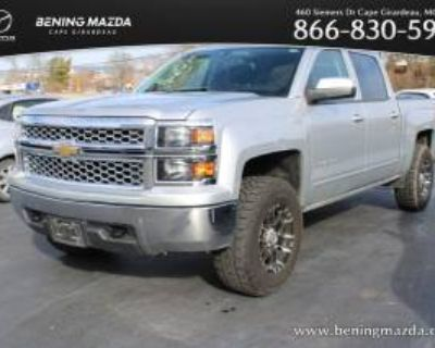 2015 Chevrolet Silverado 1500 LT with 1LT Crew Cab Short Box 4WD