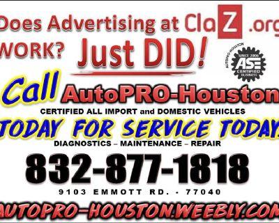 Transmission Repair Shop Houston Harris County TX