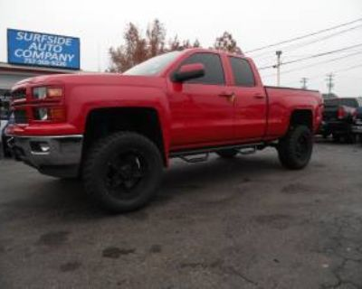 2014 Chevrolet Silverado 1500 LT with 1LT Double Cab Standard Box 4WD