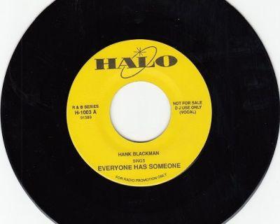HANK BLACKMAN & GROUP ~ Everyone Has Someone*M-45 !