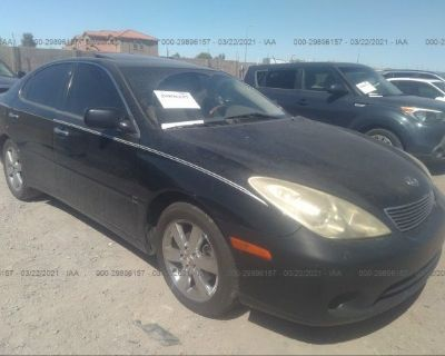 Salvage Black 2005 Lexus Es 330
