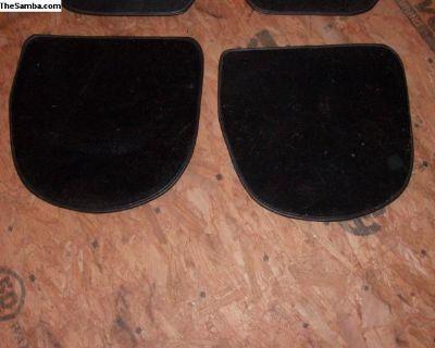 Porsche Rear Floor mats