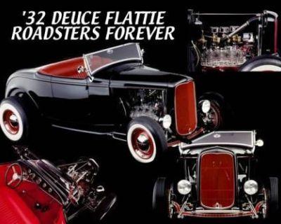 1932 Ford High-Boy 2-door Deluxe Flathead V8 Restored