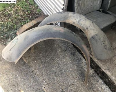 mild custom original rear fenders 1962-1967