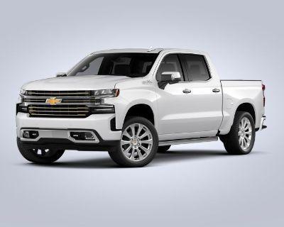 New 2021 Chevrolet Silverado 1500 High Country Rear Wheel Drive Crew Cab
