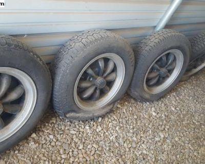 4 lug empi 8 spoke wheels