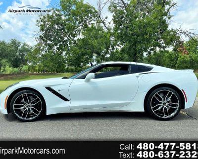 2018 Chevrolet Corvette 2dr Stingray Z51 Cpe w/3LT