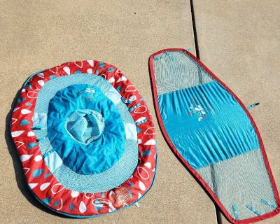 Swimways spring float with sunshield