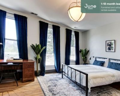 #173 Queen room in Capitol Hill 4-bed / 2.5-bath apartment